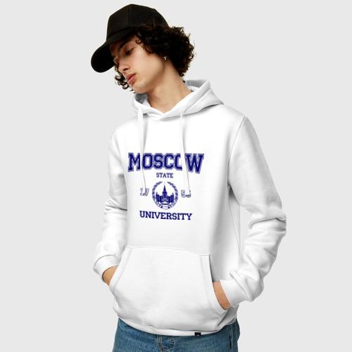 Мужская толстовка хлопок  Фото 03, MGU Moscow University