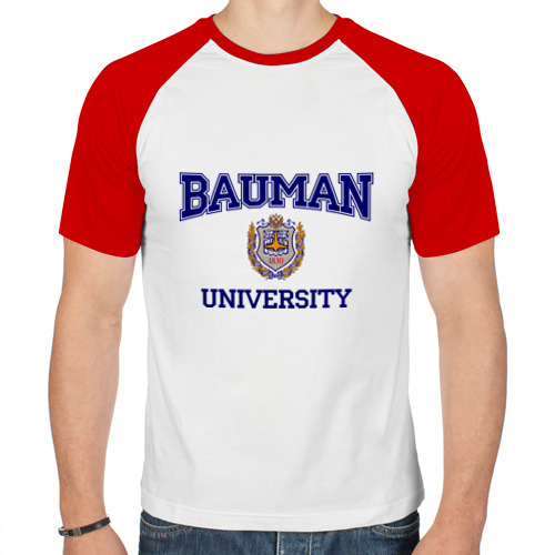 Мужская футболка реглан  Фото 01, BAUMAN University