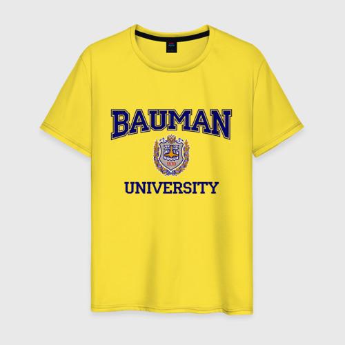 Мужская футболка хлопок BAUMAN University Фото 01