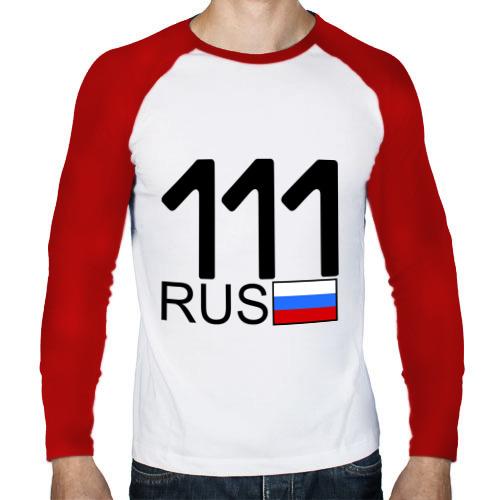 Мужской лонгслив реглан  Фото 01, Республика Коми - 111