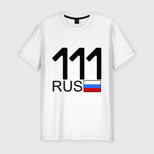 Мужская футболка премиум  Фото 01, Республика Коми - 111