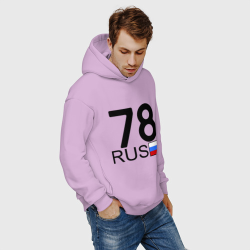 Мужское худи Oversize хлопок Санкт-Петербург - 78 Фото 01