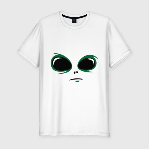 Мужская футболка премиум  Фото 01, инопланетянин