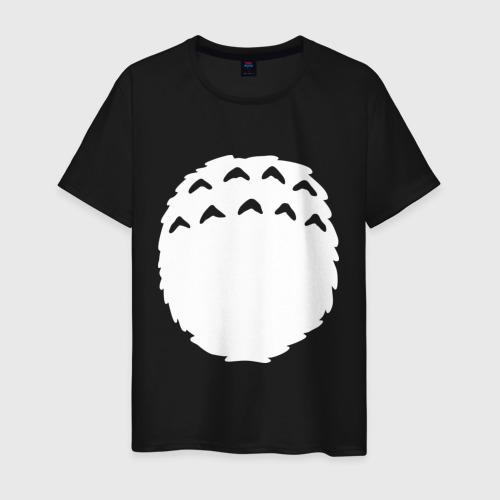 Мужская футболка хлопок Тоторо грудь