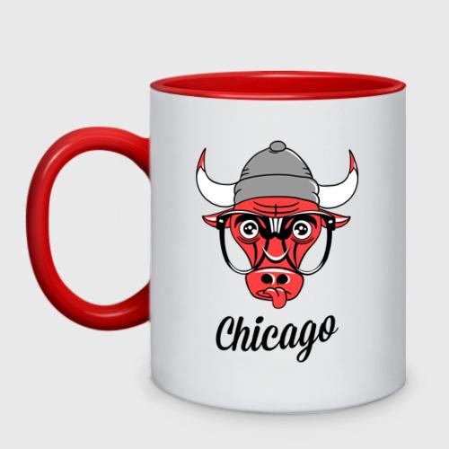 Кружка двухцветная Chicago swag