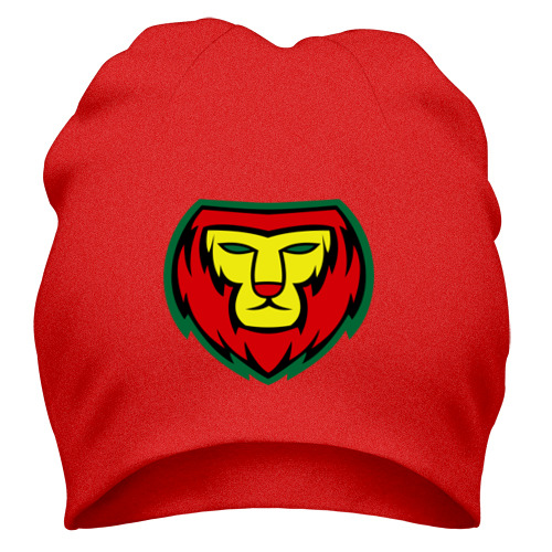Шапка Lion red yellow green
