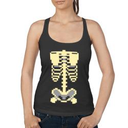 Пиксельный скелет