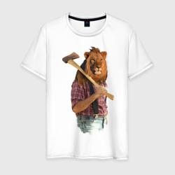 Lion  lumberjack