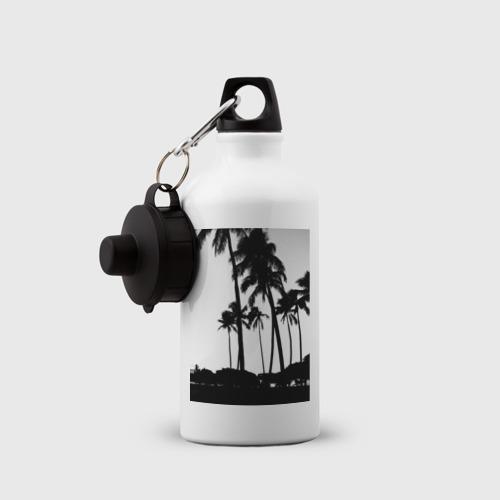 Бутылка спортивная  Фото 03, Black palms
