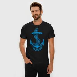 Blue anchor