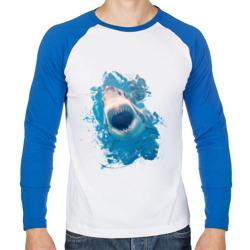 Акула watercolor
