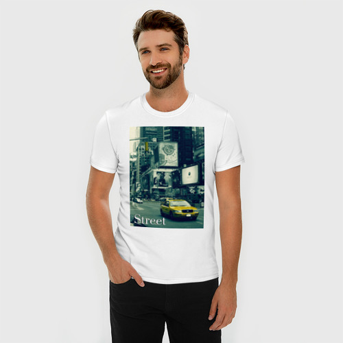 Мужская футболка премиум  Фото 03, NY Street