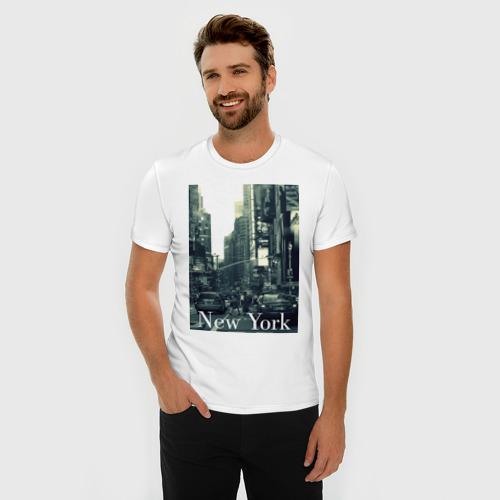 Мужская футболка премиум Street NY