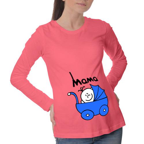 Лонгслив для беременных хлопок Ребенок в коляске