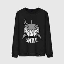 Акула улыбается