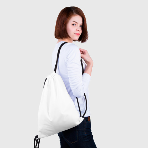 Рюкзак-мешок 3D  Фото 02, У хорошей тёщи зять не будет тощий!