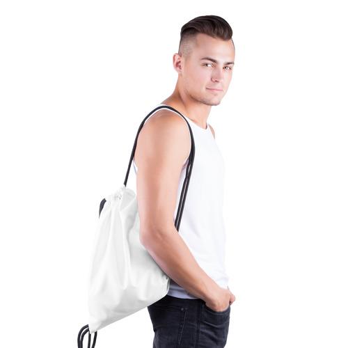 Рюкзак-мешок 3D  Фото 03, У хорошей тёщи зять не будет тощий!