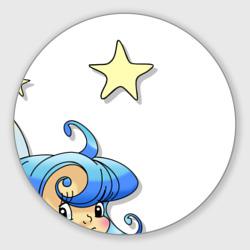 Фея в звездном небе.