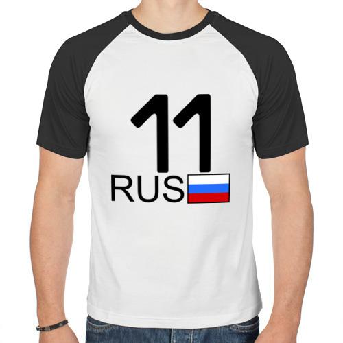Мужская футболка реглан  Фото 01, Республика Коми - 11