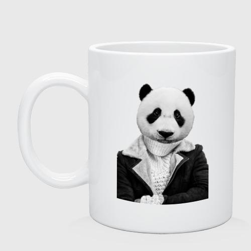 Кружка  Фото 01, Панда в свитере