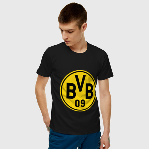 Мужская футболка хлопок Borussia Dortmund Фото 01