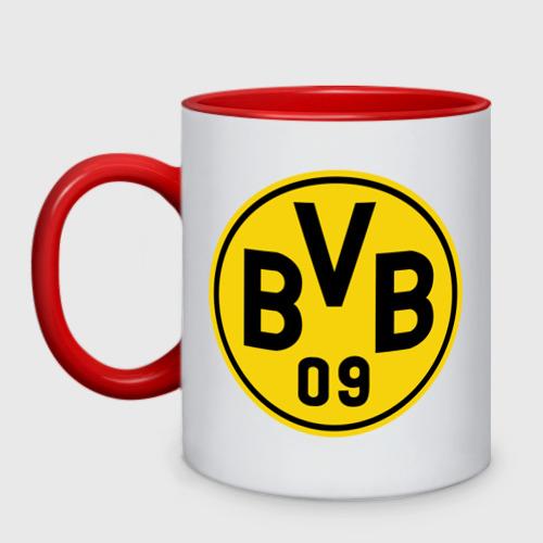 Кружка двухцветная Borussia Dortmund