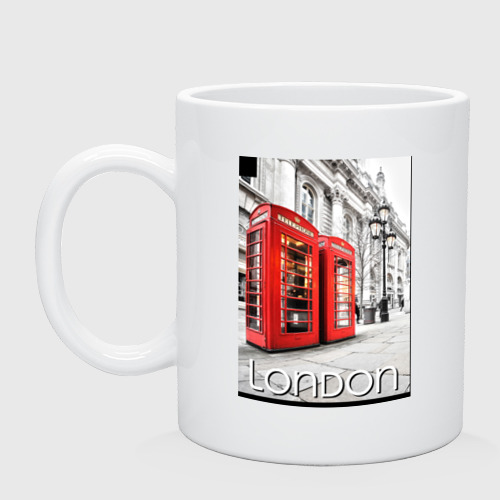 Кружка  Фото 01, Телефонные будки Лондона