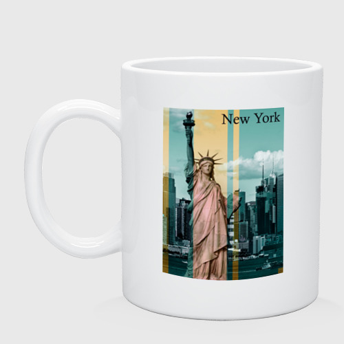 Кружка  Фото 01, NY cтатуя свободы