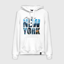 Надпись NY