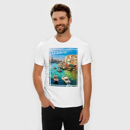 Мужская футболка премиум  Фото 03, Венеция