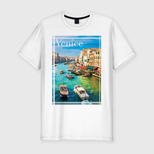 Мужская футболка премиум  Фото 01, Венеция