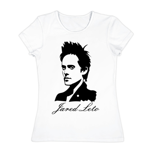 Женская футболка хлопок Jared leto (Джаред Лето)
