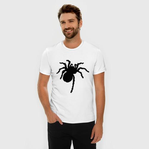 Мужская футболка премиум  Фото 03, Паук (spider)