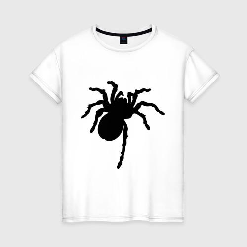 Женская футболка хлопок Паук (spider)