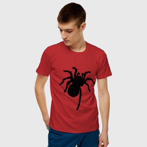 Мужская футболка хлопок Паук (spider) Фото 01