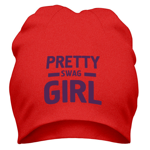 Шапка Pretty swag girl
