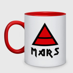 30 seconds to mars (знак триада).