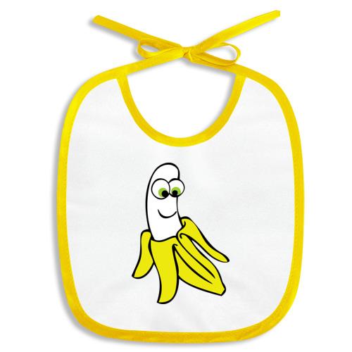 Слюнявчик Веселый банан