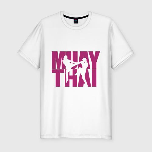 Мужская футболка премиум  Фото 01, Muay thai