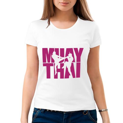 Женская футболка хлопок  Фото 03, Muay thai