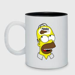 Гомер думает о еде