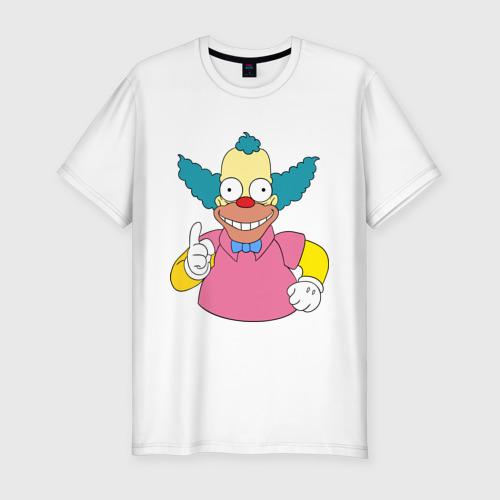 Мужская футболка премиум Клоун красти