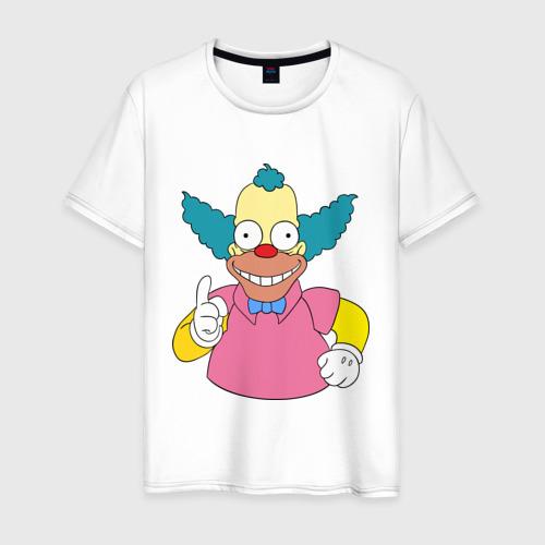 Мужская футболка хлопок Клоун красти