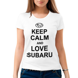 keep calm and love subaru