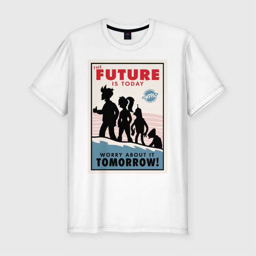 Мужская футболка премиум  Фото 01, Futurama poster