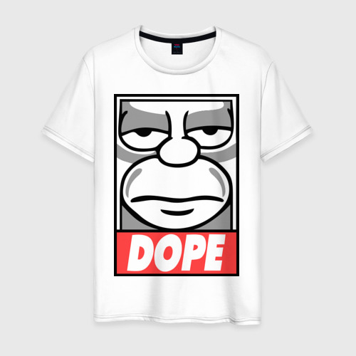Мужская футболка хлопок Homer dope