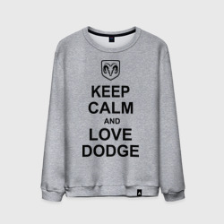 keep calm and love dodge