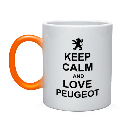 keep calm and love peugeot