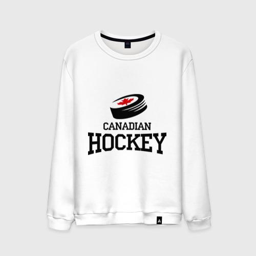 Мужской свитшот хлопок  Фото 01, Canadian hockey.