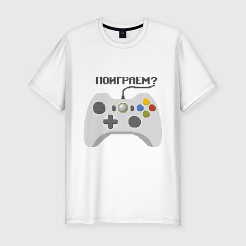 Мужская футболка премиум  Фото 01, Поиграем